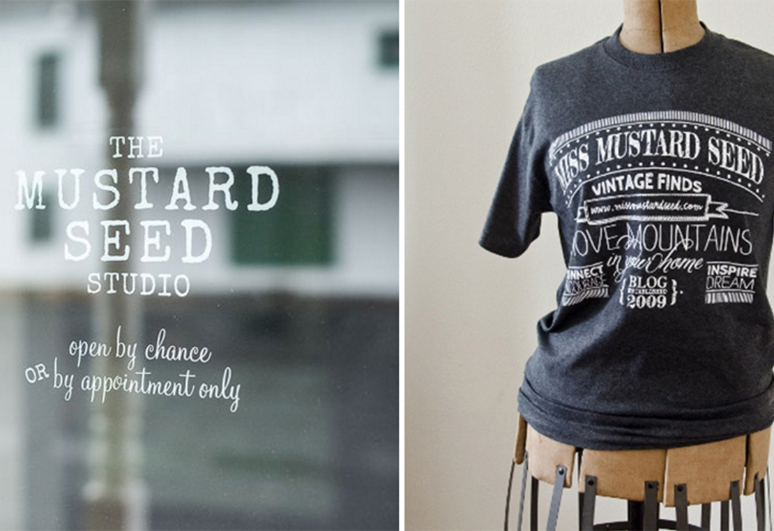 Miss Mustard Seed - Bliss and Tell Creative