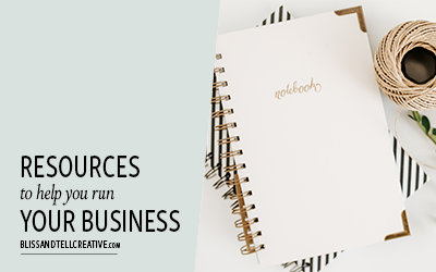 Resources To Help You Run Your Business