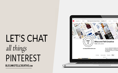 Let's Chat All Things Pinterest